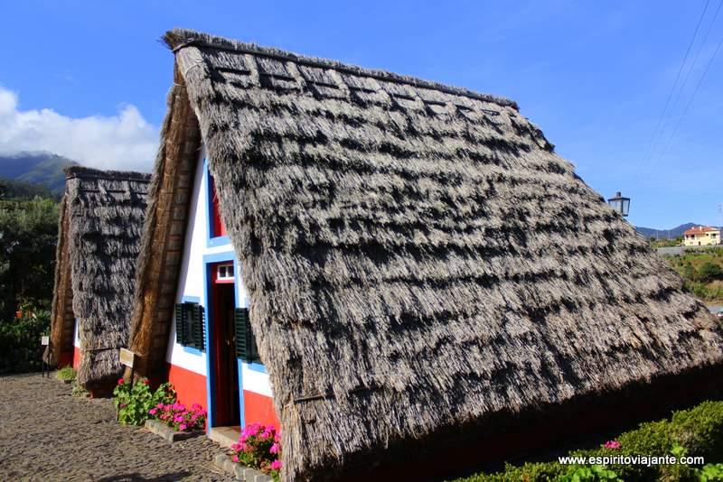 Casas tradicionais Santana