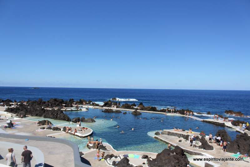 Piscinas Porto Moniz - Visitar a Madeira