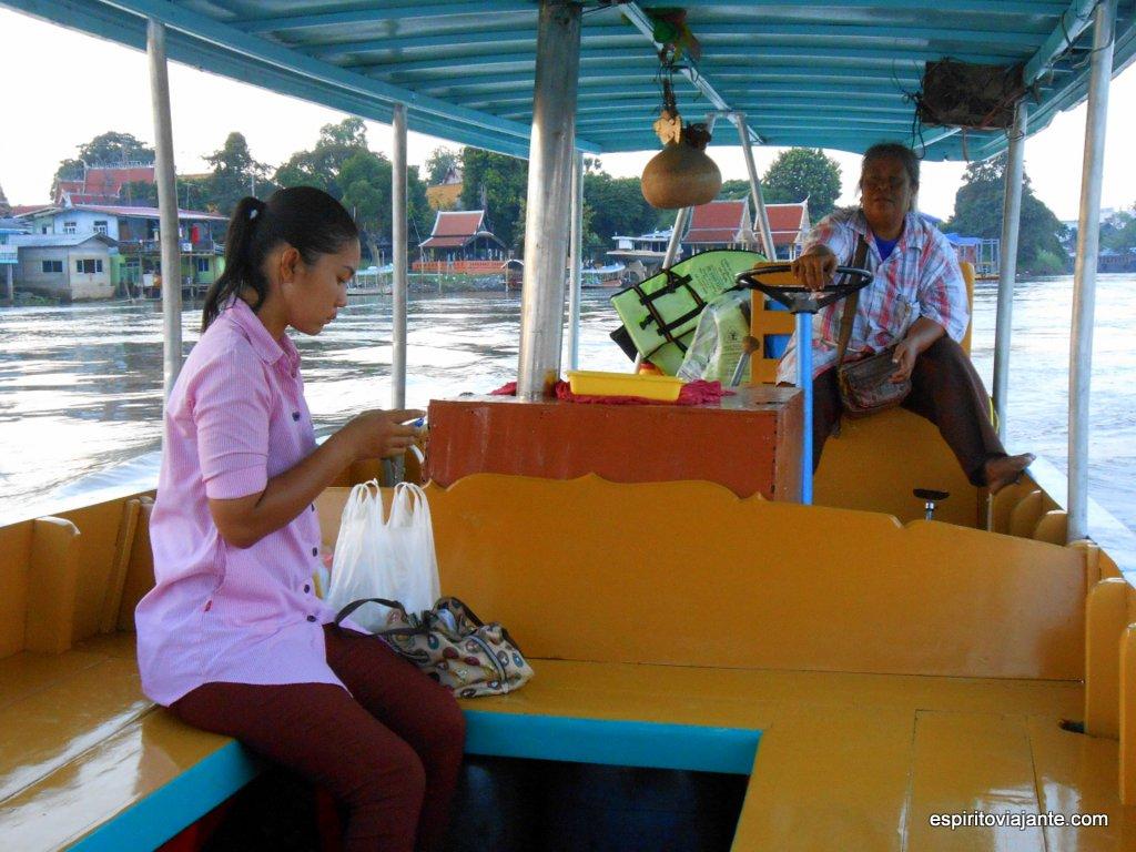 Passeio de barco Chao Praya