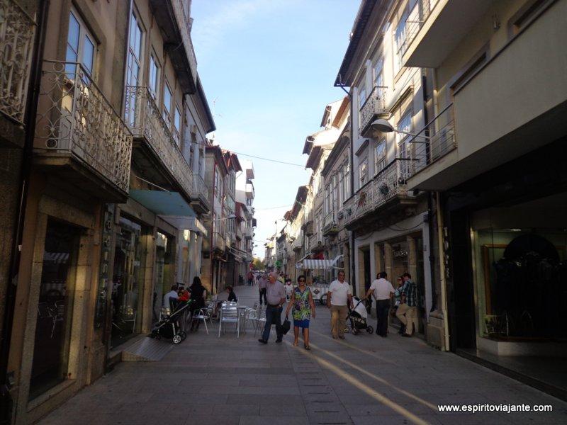 visitar Barcelos Rua Direita