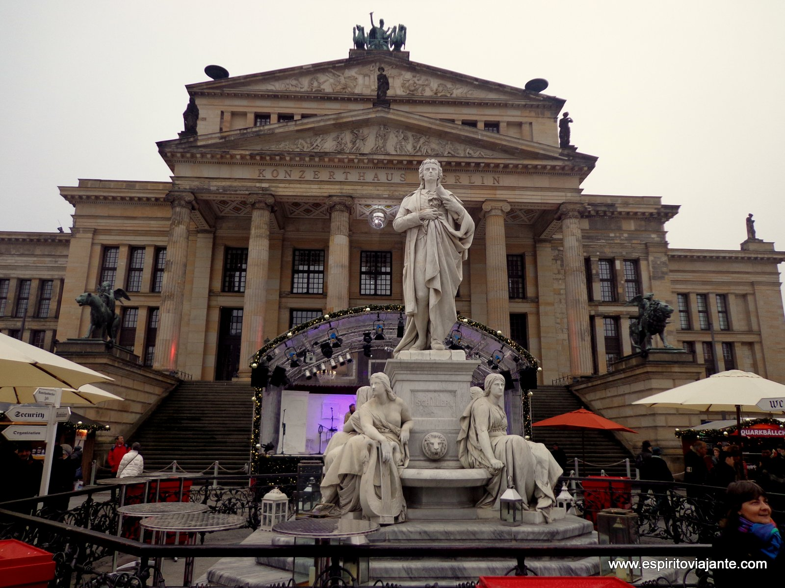 Gendarmenmarkt Dicas de viagem - Berlim