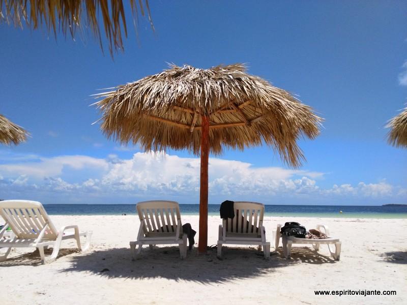 Cayo Blanco praia