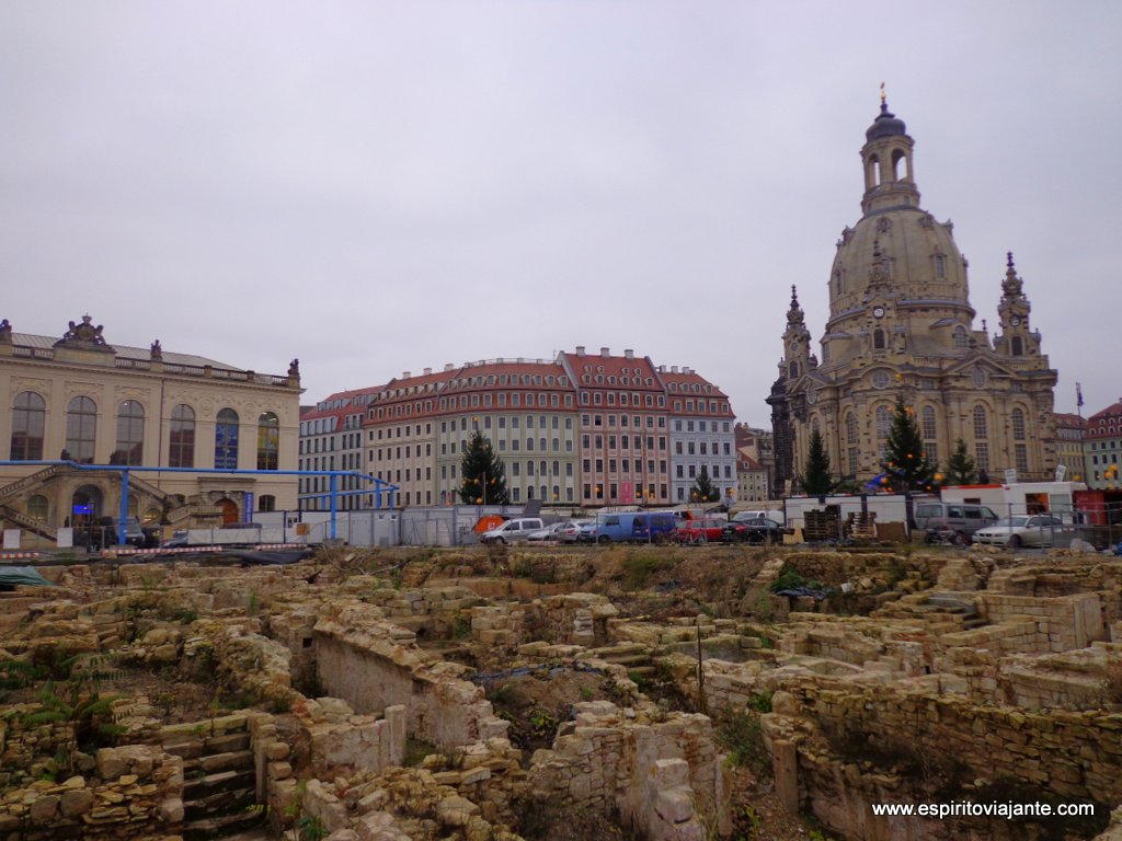 Ruínas arqueológicas dresden