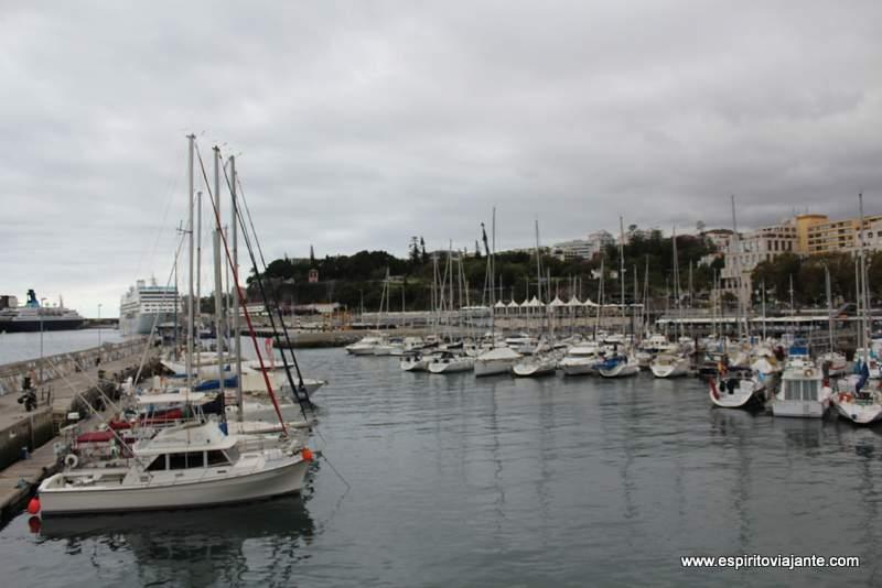 Marina visitar o Funchal