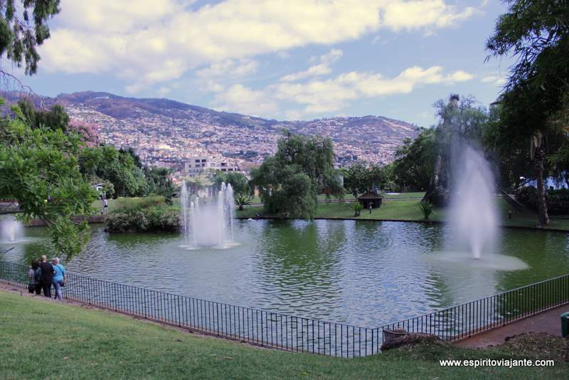 Parque de Santa Catarina visitar o Funchal