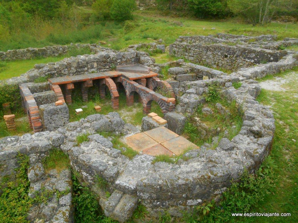 Ruínas romanas de Lóbios - Geira romana