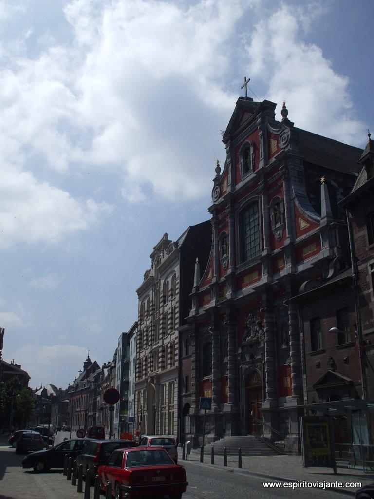 Rua em Liège