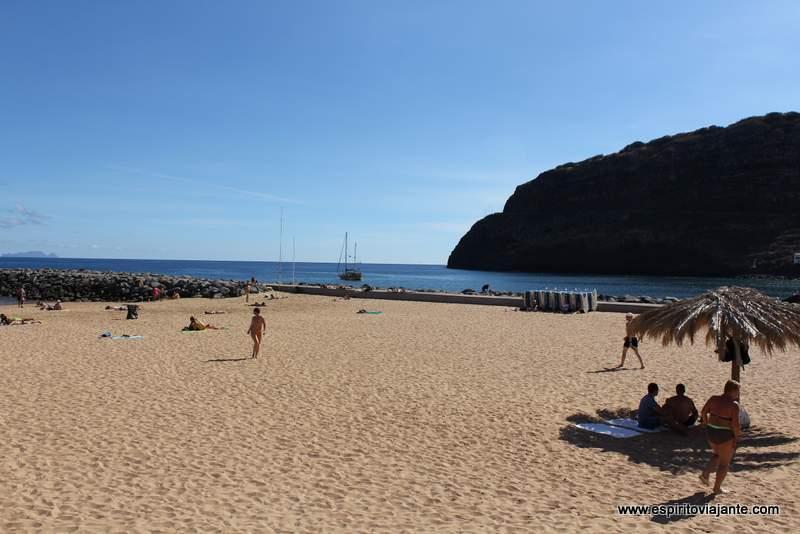 Praia de Machico - viajar na Ilha da Madeira