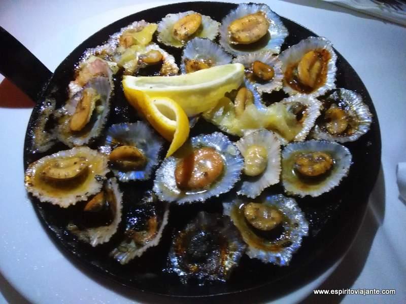 lapas grelhadas - viajar na Ilha da Madeira