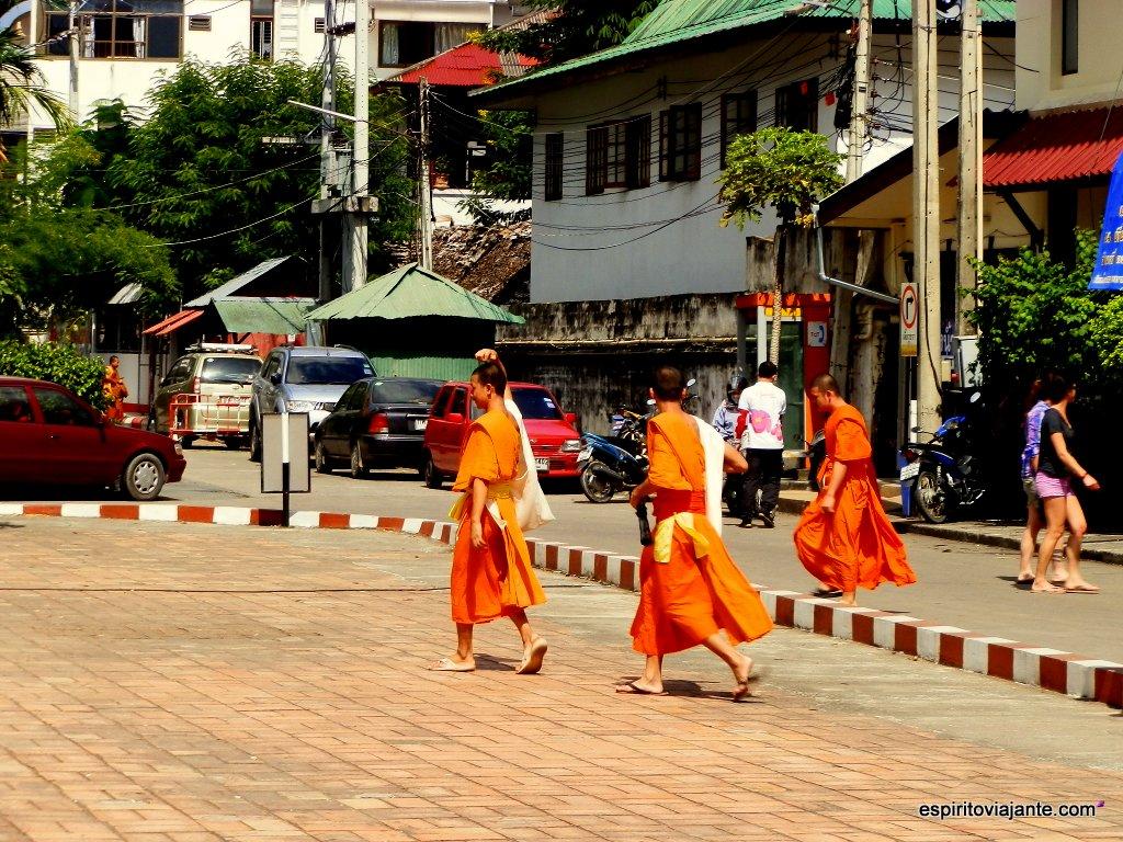 Monges em Sukhothai