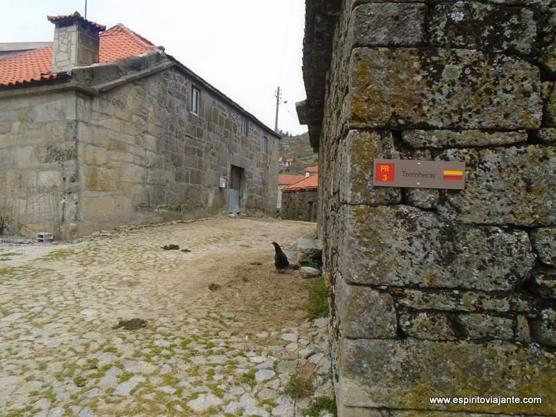 Trilho de Torrinheiras aldeia