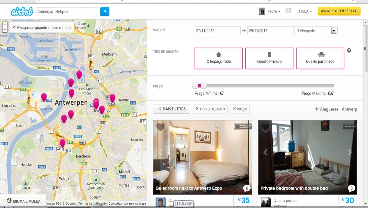 Alojamento do Airbnb alojamento barato