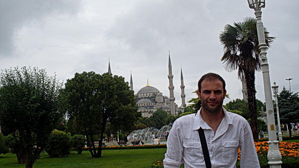 Pedro Henriques em Istanbul