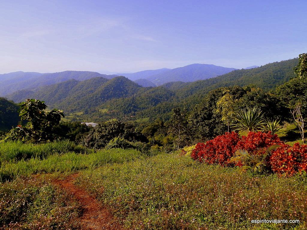 Visitar as Montanhas da Tailândia