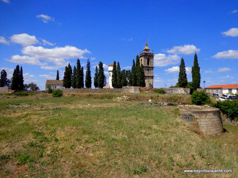 Ruínas do Castelo Almeida Aldeia Histórica de Almeida
