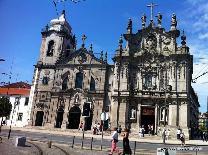 Igrejas dos Carmelitas e Igreja do Carmo-Porto