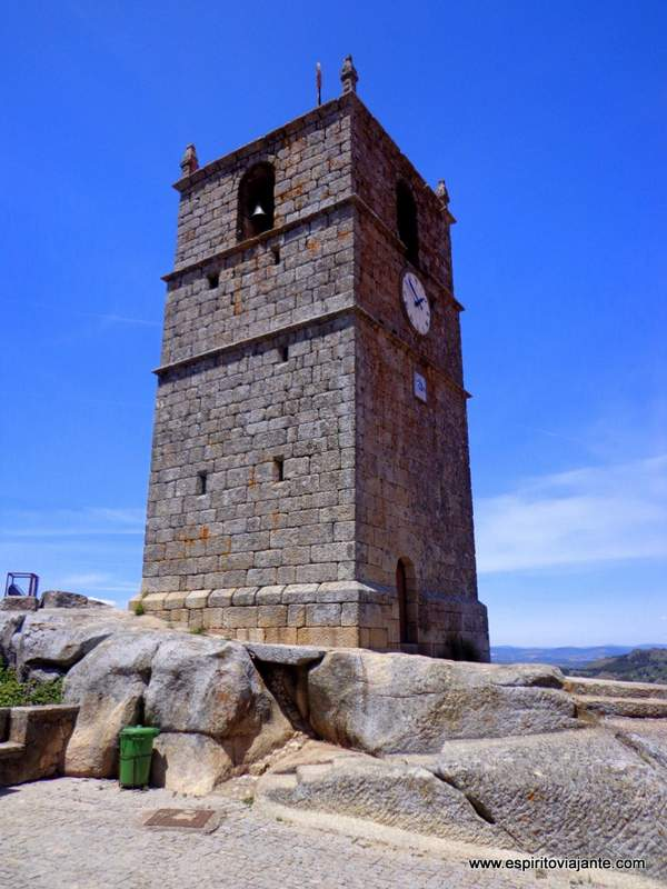 Torre do Lucano - Torre do Relógio Monsanto