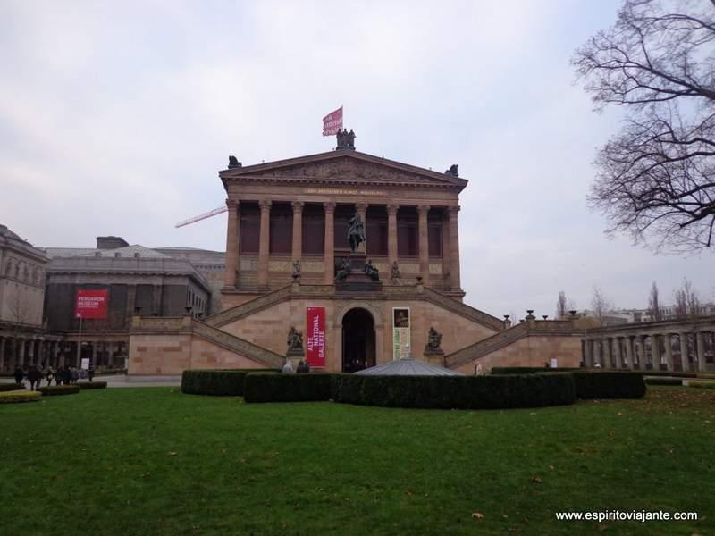 Visitar Berlim Alte Nationalgalerie