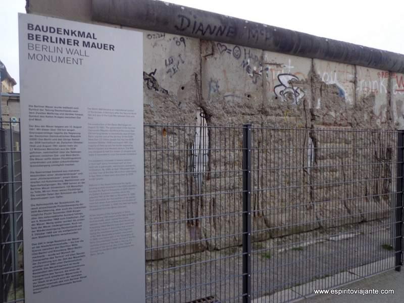 Visitar Berlim - Muro de Berlim