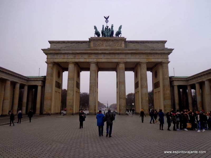 Visitar Berlim - Portas de Brandenburgo