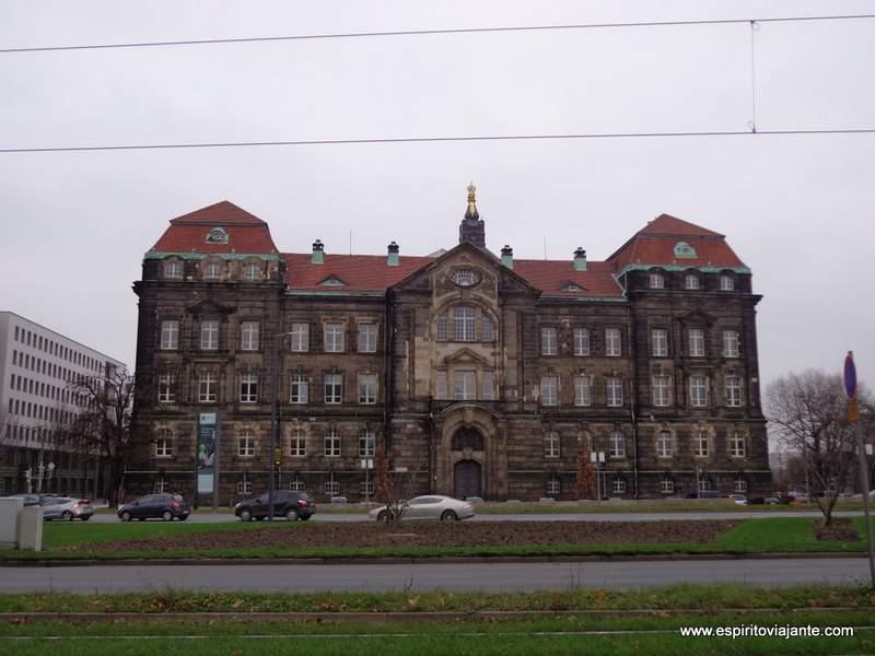 visitar Dresden Edifício Publico