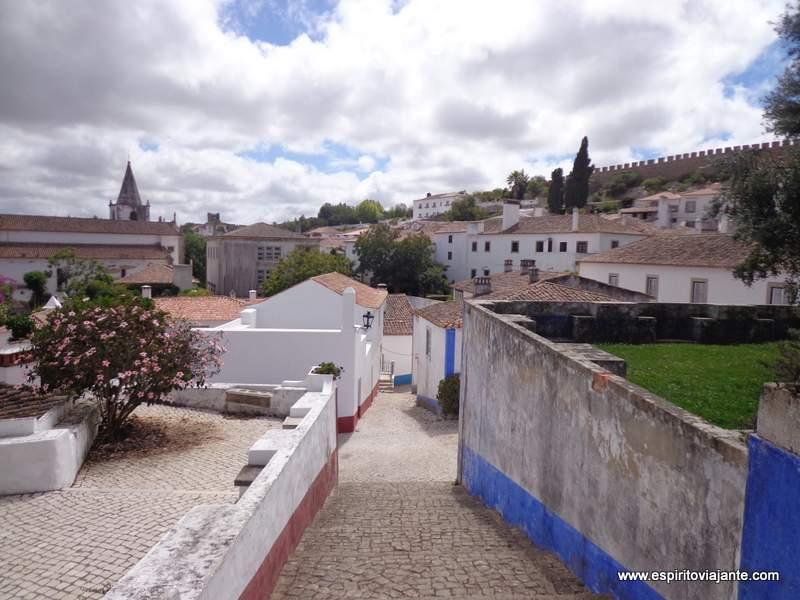 Centro Histórico de Obidos Portugal