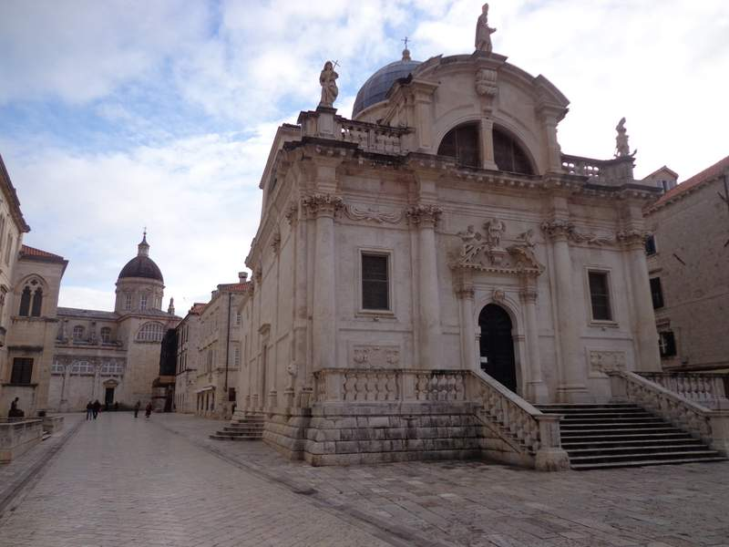 St Blaise Church Dubrovnik Croatia