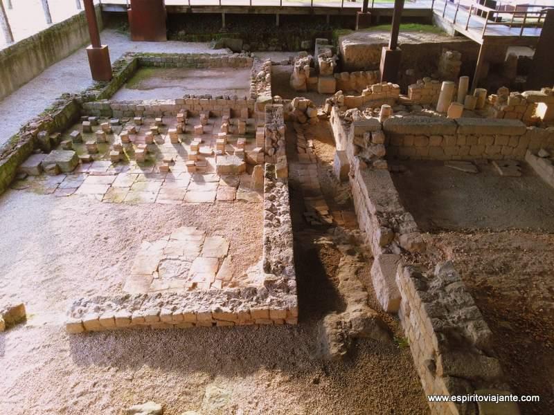 Sítios arqueológicos Braga Portugal