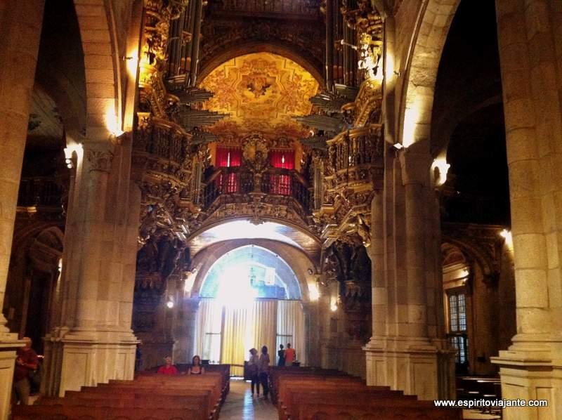 Interior da Sé de Braga Portugal