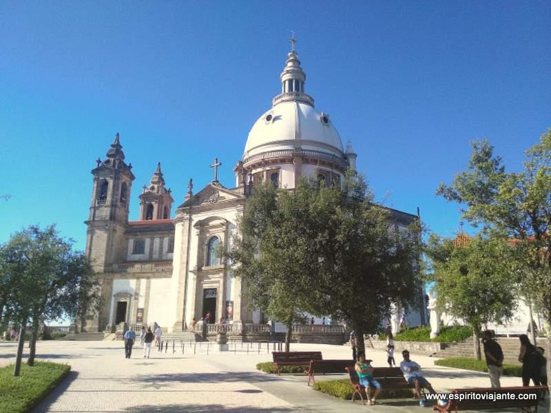 Visitar Braga Santuário do Sameiro