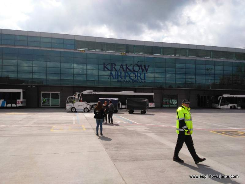 Krakow Airport Poland Aeroporto-Cracovia