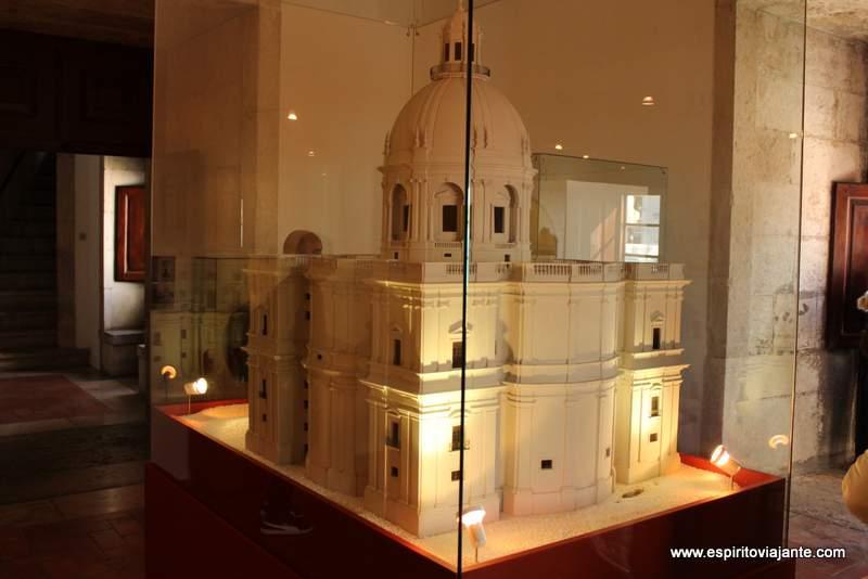 Exposição no interior do Panteão Nacional
