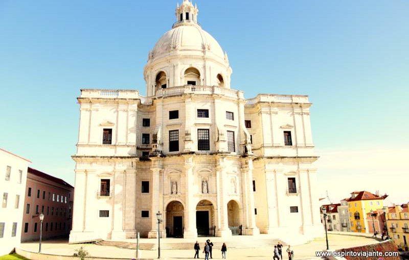 Visitar o Panteão Nacional em Lisboa