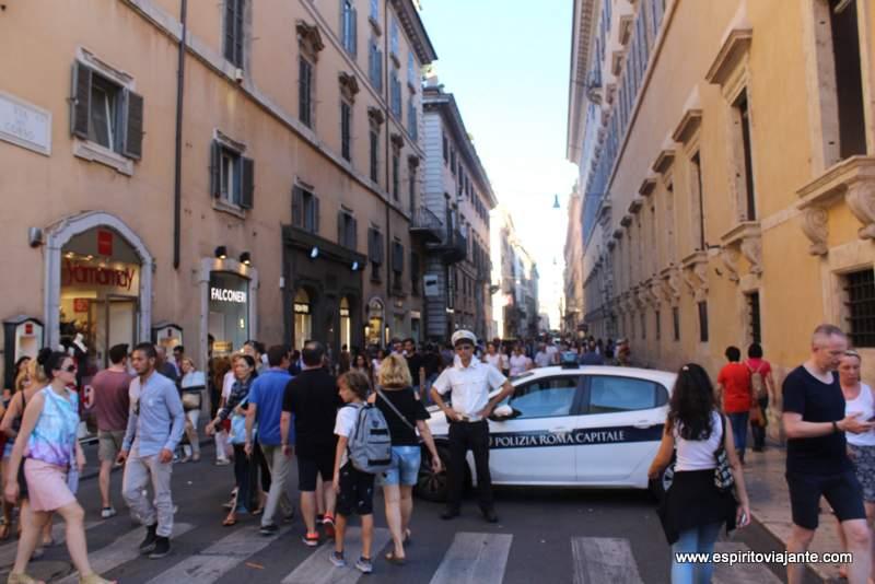 Visitar Roma Segurança Turismo
