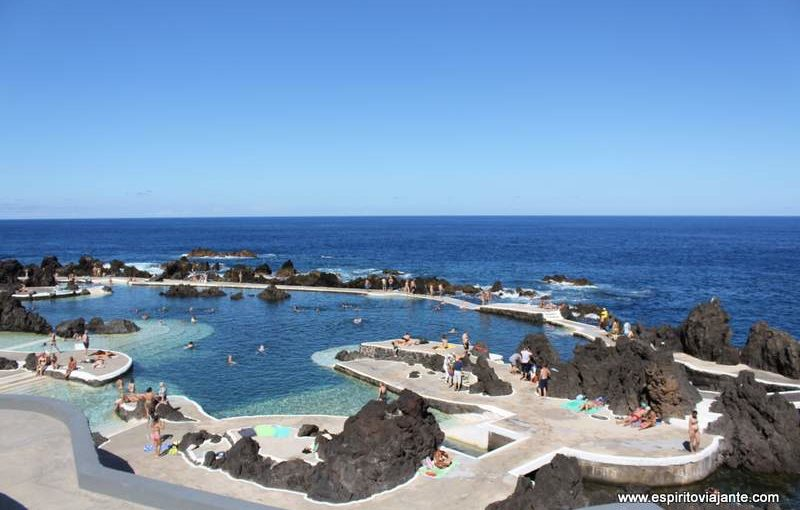 Visitar as piscinas naturais de Porto Moniz – Madeira