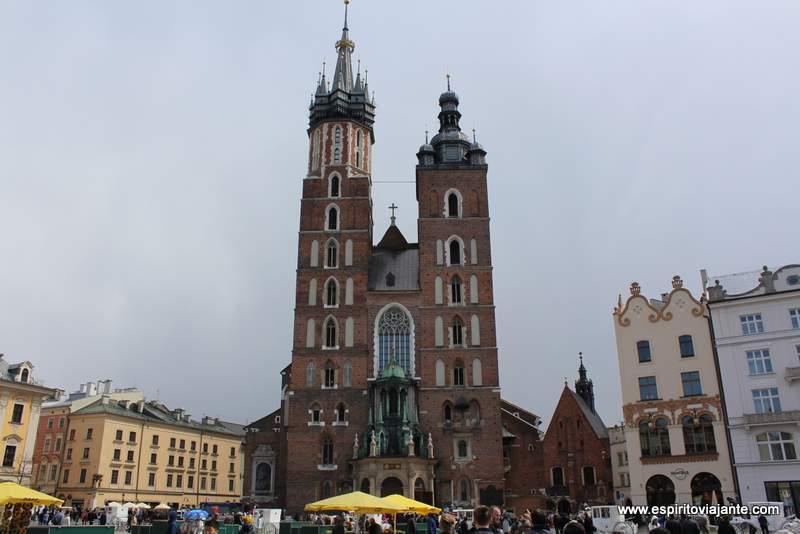 Basílica de Stª Maria Kościół Wniebowzięcia Najświętszej Maryi Panny, Kościół Mariacki