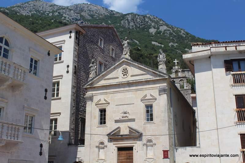 Igreja de S. Marcos St Markus church Perast Montenegro