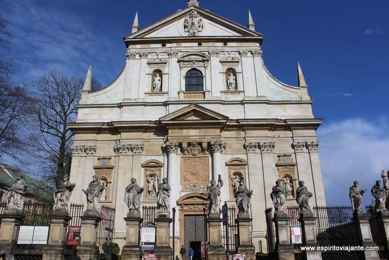 Igreja de S. Pedro e S. Paulo Cracovia Kościół ŚŚ Piotra i Pawła