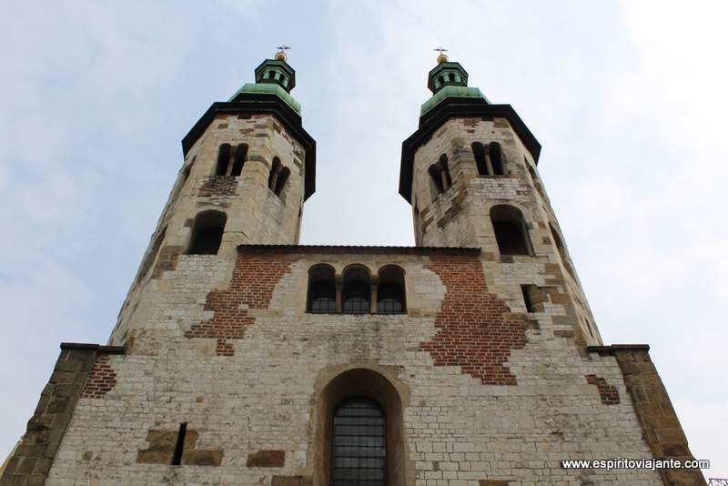 Igreja de St Andre Kościół św. Andrzeja