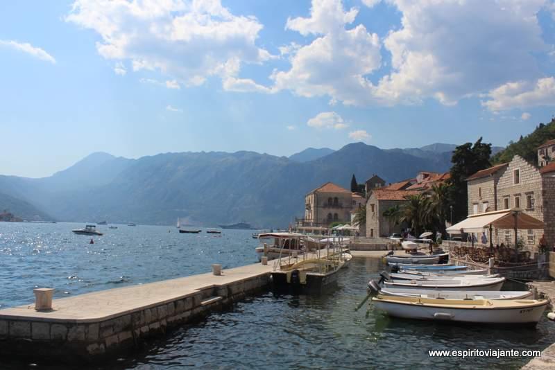 Marina Perast Kotor Montenegro