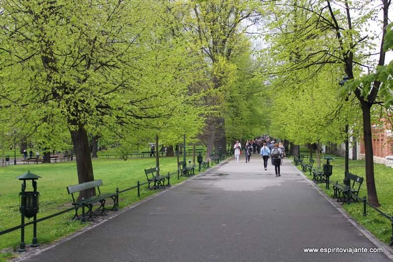 Parque Planty Planty krakowskie