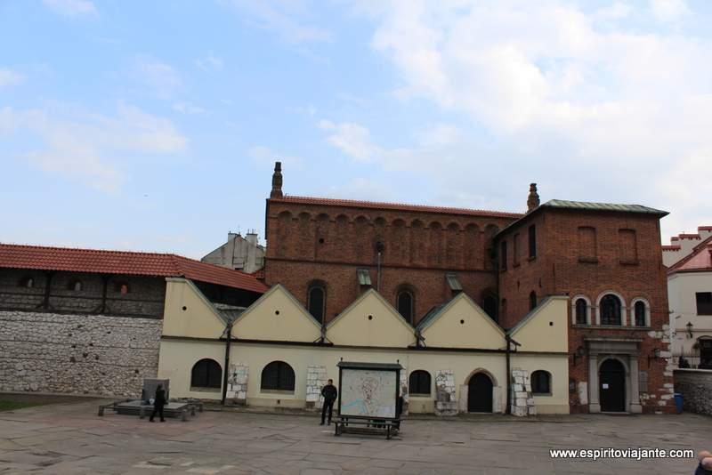 Sinagoga Velha Synagoga Stara locais a visitar em Cracóvia