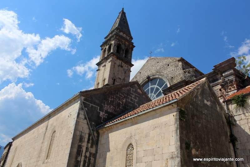 Sveti Nikola Church Perast Montenegro Kotor