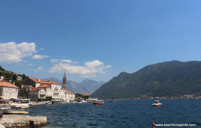 Visitar Perast na Baía de Kotor em Montenegro