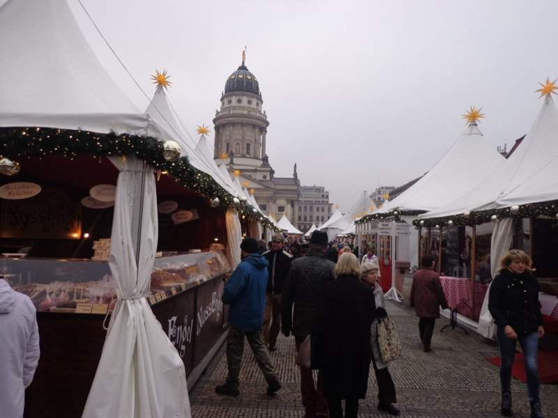 Christmas market Berlin Germany