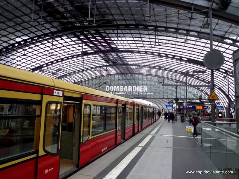 Hauptbahnhof Berlim Alemanha