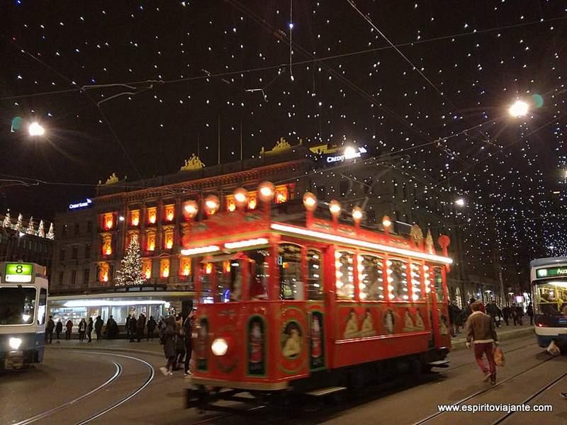 Eletrico Tram Zurique Zurich