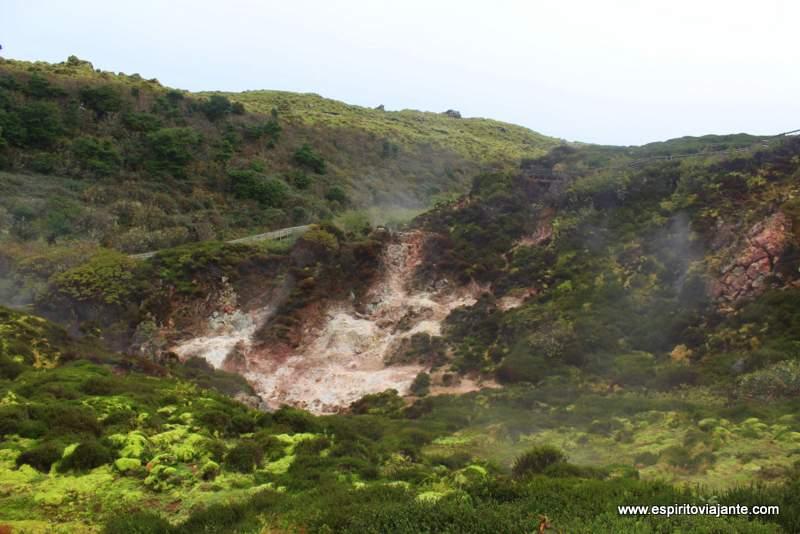 Furnas de enxofre ilha Terceira - Açores Azores