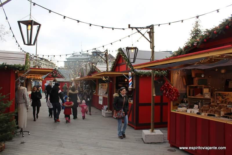 Zurich christmas Market Mercado de Natal