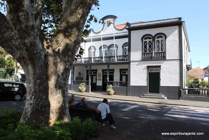 Paços do concelho Machico Madeira
